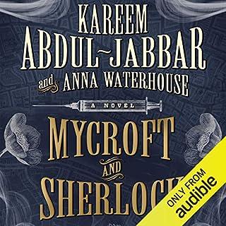 Mycroft and Sherlock audiobook cover art