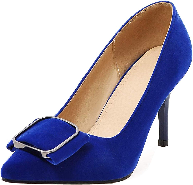 Comfity Womens Compro High Heel Slip-on Pumps