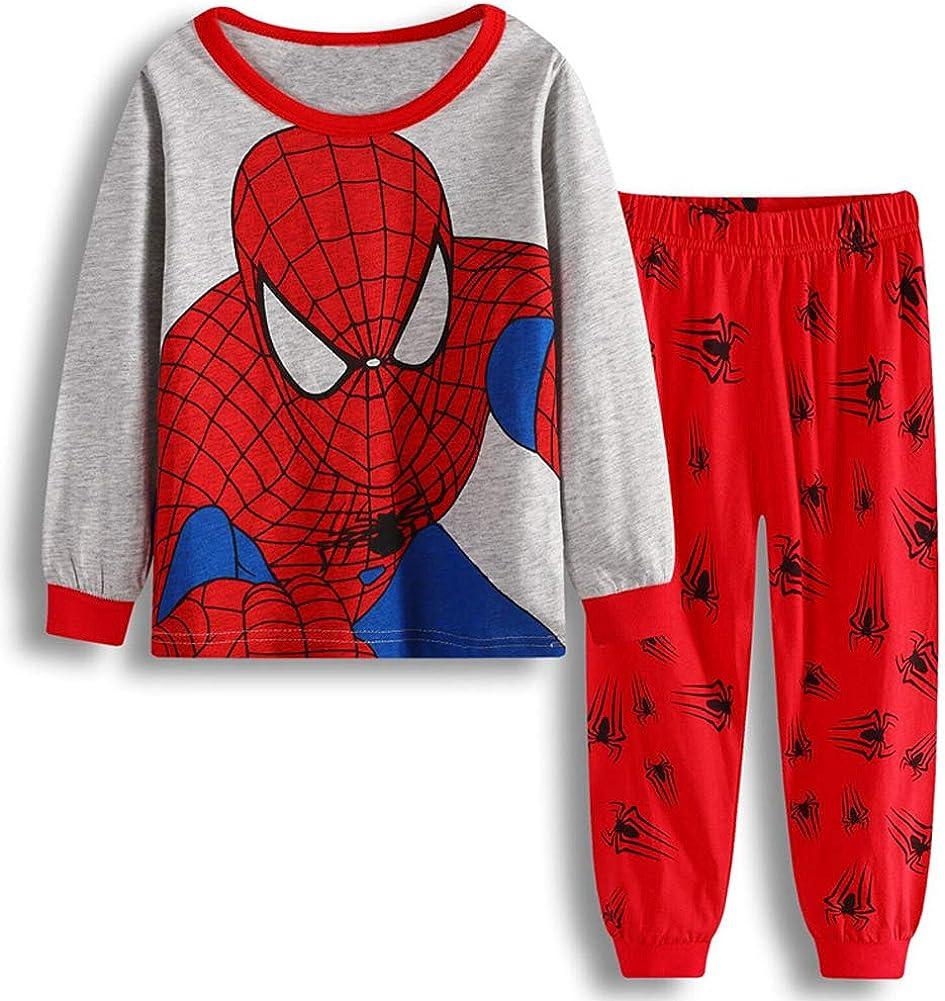 N'aix Little Boys Super Hero Cotton Sets Sleepwear Pajama Purchase Same day shipping 2