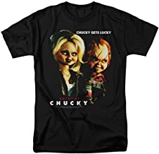 Bride of Chucky - Chucky Gets Lucky Adult Regular Fit T-Shirt