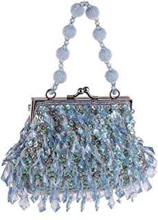 Clutch Bag,Womens Chinese Beaded Embroidered Bag Evening Bag for Wedding, Party, Dinner, Etc