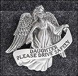 Daughter with Angel バイザークリップ 自動車 ピューター