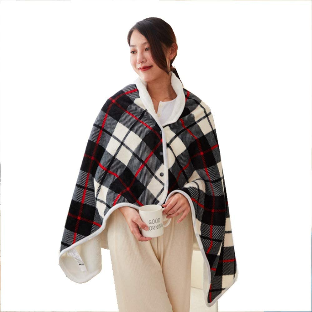 Popular popular BYXA Electric Heated Blanket and Portland Mall Throws for Shawl Wrap Cordless