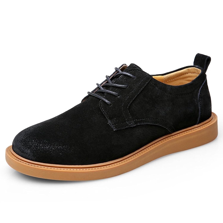 HXJメンズ ビジネスシューズ むれない カジュアル 紳士靴 滑り止め スエード