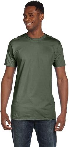 4980 Nano T-Shirt pour Homme 1 Vert Fatigue + 1 Fum¨ e gris 3XL