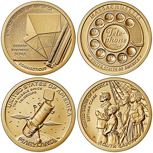 American innovation dollar coin set