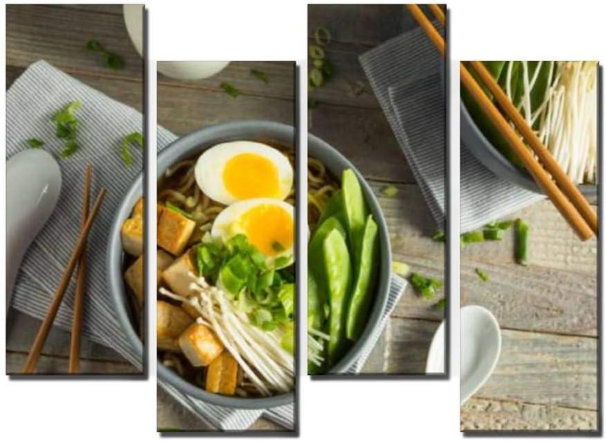 Wocatton Homemade ●スーパーSALE● セール期間限定 Japanese Vegan Tofu 割引 Noodles Ramen Wall Bac Art