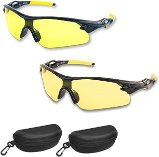 BEST Night Driving Glasses- Anti Glare Night Vision Reduce Eye Strain Men Women