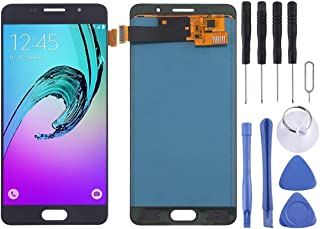 GM Phone Replacement Parts, LCD Screen and Digitizer Full Assembly (TFT Material) for Samsung Galaxy A5 (2016) / A510 Mobile Display (Color : Black)