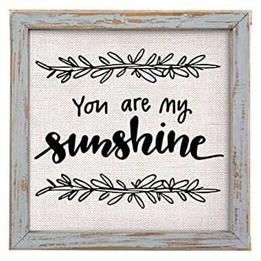 Brownlow Kitchen You Are My Sunshine Framed Linen Sign