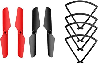 Holy Stone Spare Parts for HS370 Drone Including Propellers and Blade Guards