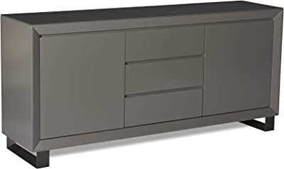 Relaxdays Sideboard Nordisch Design Highboard Mit Fusse 2