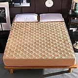 YDyun Matratzen-Bett-Schoner mit Spannumrandung |Microfaser | 100% Polyester Baumwoll-Schutzhülle...