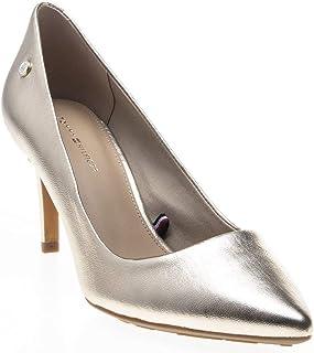 Metallic Heel Pump Womens Shoes Metallic