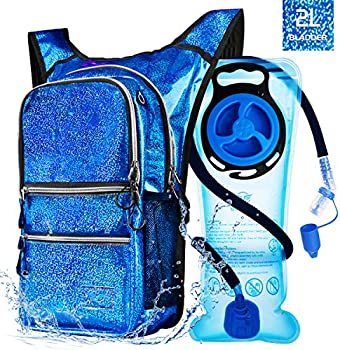Mothybot Hiking Hydration Pack Backpack with 2l Water Bladder