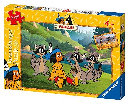 Ravensburger 09008 - Yakari und Seine Freunde 2 x 20 Teile Puzzle