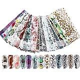 20 Diseños Nail Art Foil