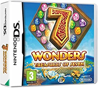 Avanquest 7 Wonders Treasures of Seven DS vídeo - Juego (Nintendo DS, Arcada)