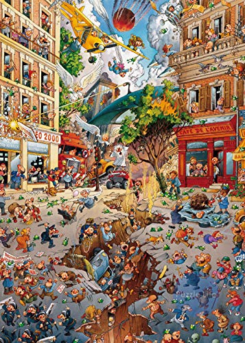 SiJOO Modern Apocalypse 1000 Piece Wooden Adult Children Jigsaw Puzzle Game Loup