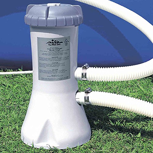 Intex 1000 GPH Swimming Pool Filter Pump for Above Ground Pools