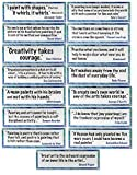 Crystal Productions CP1889 Artist Quotes Display Cards