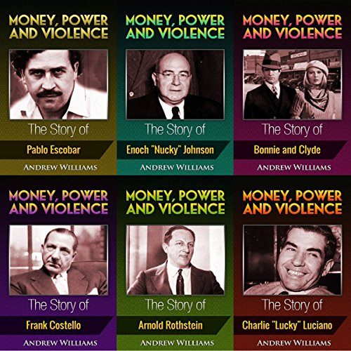 Money, Power and Violence: 6 Books in 1 audiobook cover art