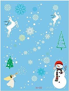 Kerstmis Tijdelijke Tattoos Stickers, Decoratie van Kerstmis met de Kerstman Kerstboom Sokken rendiergiften Tassen voor Ki...