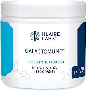 Klaire Labs Galactomune Powder - Prebiotic Beta-Glucan & Galactooligosaccharides Immune Support (30 Servings, 150 Grams)