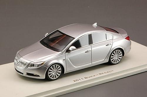Unbekannt Luxury LX10105 Buick Regal Quick 2011 Silver METALLIC 1 43 MODELLINO DIE CAST kompatibel mit