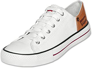 Levi's Calzado Tenis Casual Zapato Dama Mujer Blanco