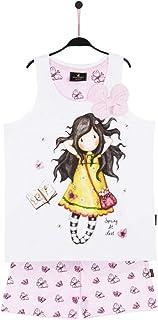 SANTORO LONDON - Pijama Santoro Gorjuss niña Mariposas Niñas Color: Blanco Talla: 12