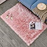 alfombra terciopelo rosa