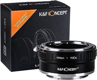K&F Concept Adapatdor AI-NEX Adaptador de Cobre Adaptador de Montura para Nikon AI Lente a Sony NEX E-Mount Cámara para Sony Sony NEX-3 NEX-3C NEX-3N NEX-5 NEX-5C NEX-5N