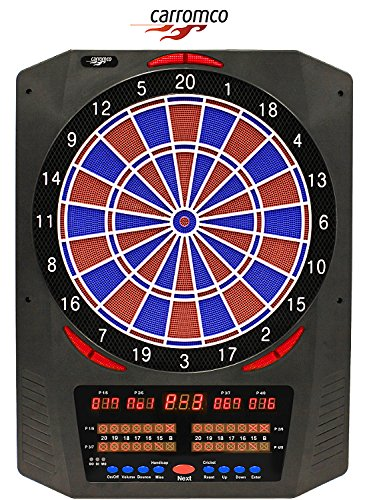 Topaz - 901 cible pour fléchettes électronique 1 à 8 joueurs • 40 jeux, 761 variantes