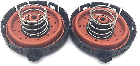 Ensun 11127547058 Crankcase Vent Valve PCV Pressure Regulating Valve (Pack of 2)
