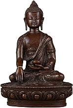 Sakyamuni Buddha Statue, Meditation Buddha Statue Sculpture,Copper Fengshui Statue, Home Garden Decor Buddha Statue Orname...