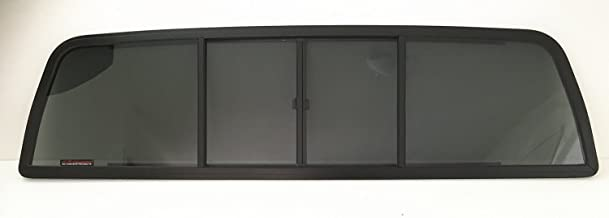 NAGD Compatible with Chevrolet C/K Series Pickup C10 C20 C30 K10 K20 K30 Sliding Window Glass Back Slider 4 Panel