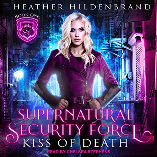 Kiss of Death audiobook cover art