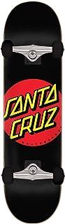 Santa Cruz Classic Dot Full Sk8 Completes, Black 8.00in x 31.25in