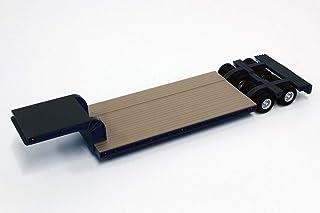 プラッツ ケンクラフト 1/50 16輪 中低重量物運搬用 トレーラ ブラック KK1006BK