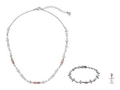Swarovski Perfection Necklace Set (Light Multi/Pink) Necklace