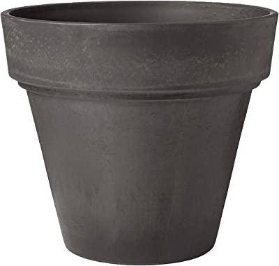 PSW OT35DC Traditional Pot, 14 by 13-Inch, Dark Charcoal