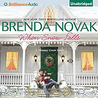 When Snow Falls     Whiskey Creek, Book 2              By:                                                                                                                                 Brenda Novak                               Narrated by:                                                                                                                                 Tara Sands                      Length: 11 hrs and 58 mins     450 ratings     Overall 4.3