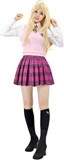 C-ZOFEK Danganronpa Akamatsu Kaede School Uniform Suit Shirt Vest Skirt Cosplay Costume