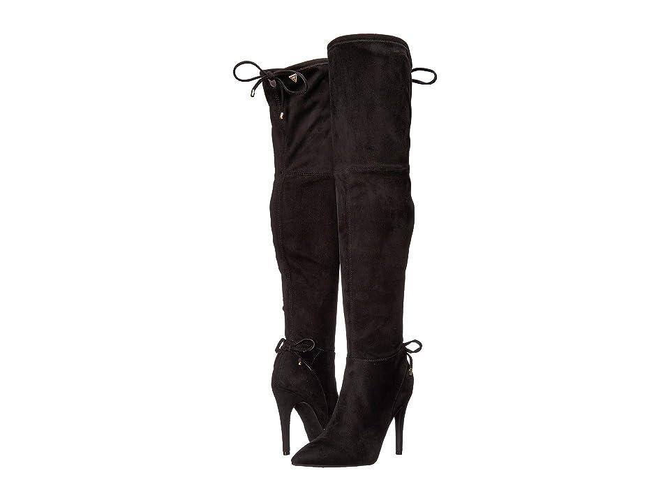 GUESS Seaton (Black Fabric 1) Women