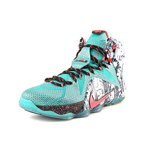 best sneakers 0a107 f7514 Nike Lebron 12 Xmas  Akron Birch  - 707558-363