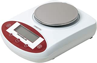Fristaden Lab Digital Precision Analytical Balance 1000g x 0.01g, Scientific Laboratory Scale with 0.01g Accuracy, Weighs Grams, Ounces, Pounds and Carats, Stainless Steel Weighing Pan, 1YR Warranty