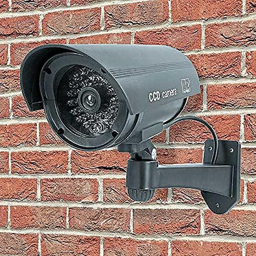 Kingavon Cámara de CCTV ficticia, Negro, L21xDia.8cm