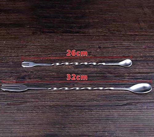 Mezcla Cuchara, largo cuchara de cóctel, Bar cuchara