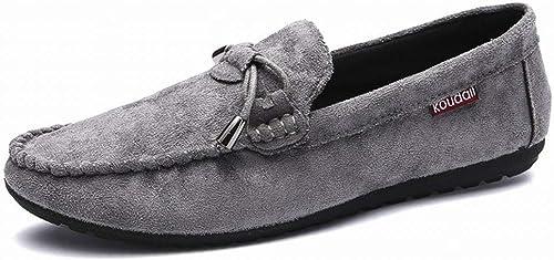 Fuxitoggo Chaussures décontractées à la Mode Confortables et Confortables Confortables (Couleuré   gris, Taille   44)  soutenir le commerce de gros